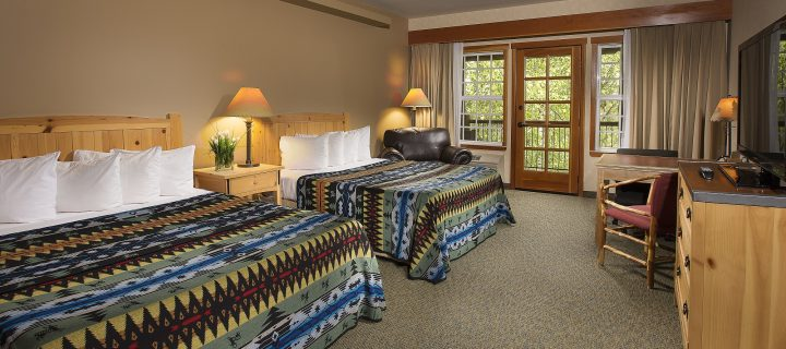 Double Queen Bed Guestrooms